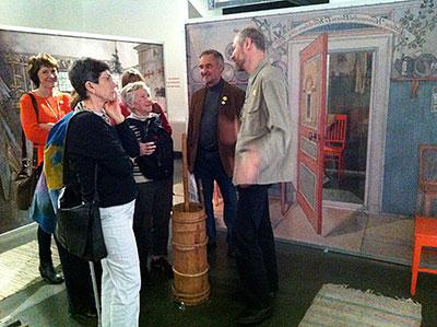 Carl Larsson På Besök I årets Designhuvudstad