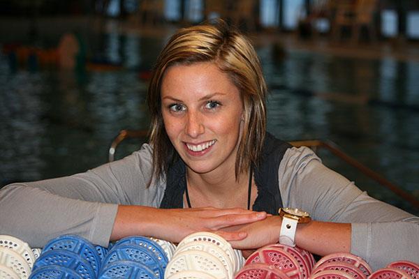 Jennie En Ambassadör För Hedemora  I OS