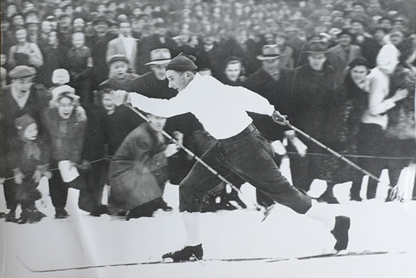 Champagnen Från OS 1948 Står Oöppnad Hos Mora-Nisse