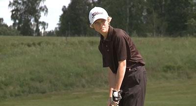 Elias 13, En Målmedveten Golfspelare
