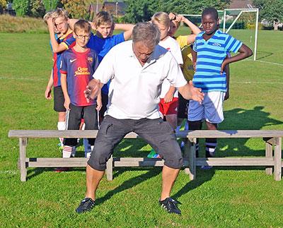 Enkelt Träningsprogram Minskar Risken För Knäskador På Unga Fotbollsspelare