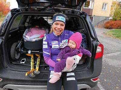 Tvåbarnsmamman Maria Siktar På OS Och VM
