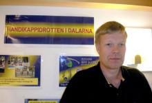 Kanslichef Jan Olov Fredborgpå Dalarnas Handikappidrottsförbund.