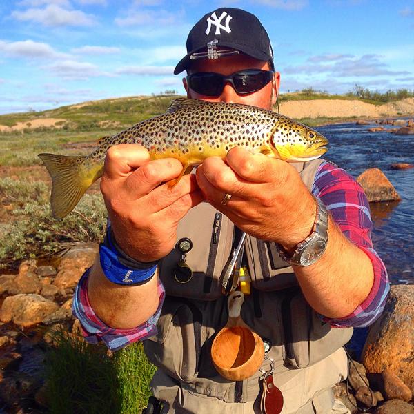 Flugfisket I Lappland Ett Minne För Livet