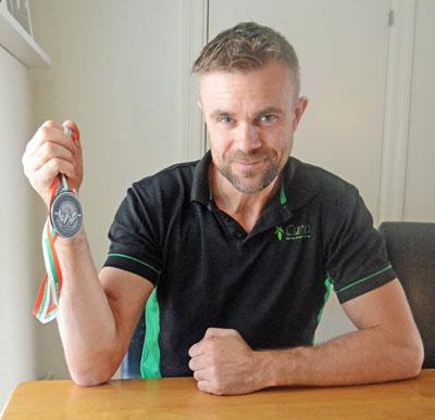 Claes Tog Medalj I EM-armbrytning