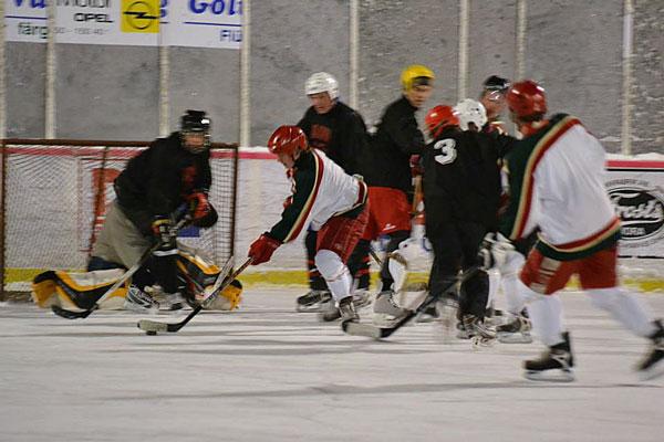 NHL-hockey Finns även I Våmhus