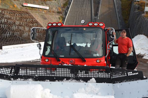 Rekordtidig Snö På Lugnet