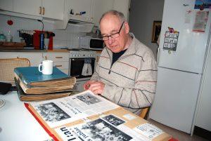 Sune Bjurman var, tillsammans med spelarna i Ornäs BK, med om att skapa många minnesvärda tidningsrubriker under åren 1985–1993.
