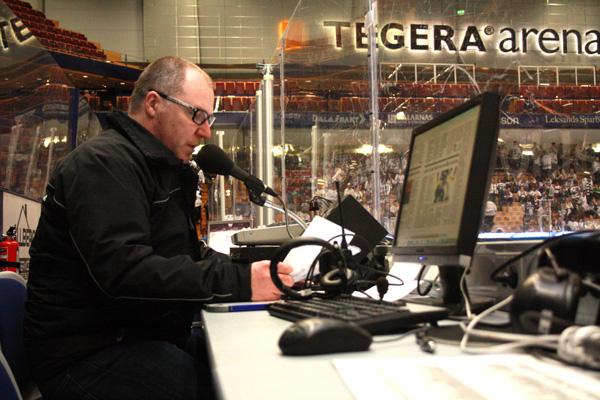 Krister Meste  Speakern I Dalarna – Har Gjort 1300 Matcher