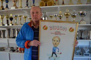 Rolf Edberg har gjort mer än 500 matcher för Falu BS.