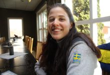 – Nu blir du bättre. Så brukar jag säga till mig själv när det går tungt på träningen, säger Anna Dyvik.