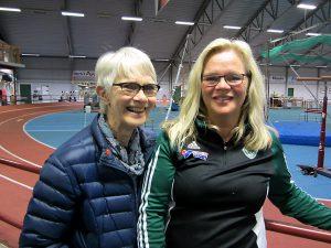 Brinner för friidrotten. Mor och dotter Barbro och Monica Sundin har ägnat hela sitt liv åt friidrotten.