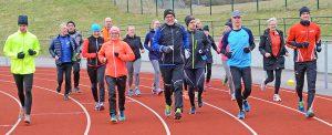 Långlöpare från Hedemora FK tränar inför årets långlopp runt om i landet, speciellt Skördeloppet den 26 augusti.
