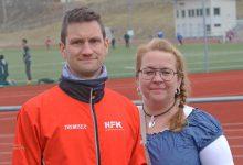 Två av de drivande i Skördeloppet, Peter Sennbland och klubbens ordförande Anna-Maria Nordström.