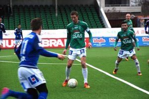 Hemvändaren. Johan Eklund är en stabil målskytt och lär komma att sprida skräck i motståndarförsvaren säsongen 2017.