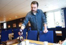 -Skid-VM i Falun var stort. I sommar ska vi servera all mat på Vansbrosimningen,  berättar Robert Tamm, vd på Mat vid Siljan.