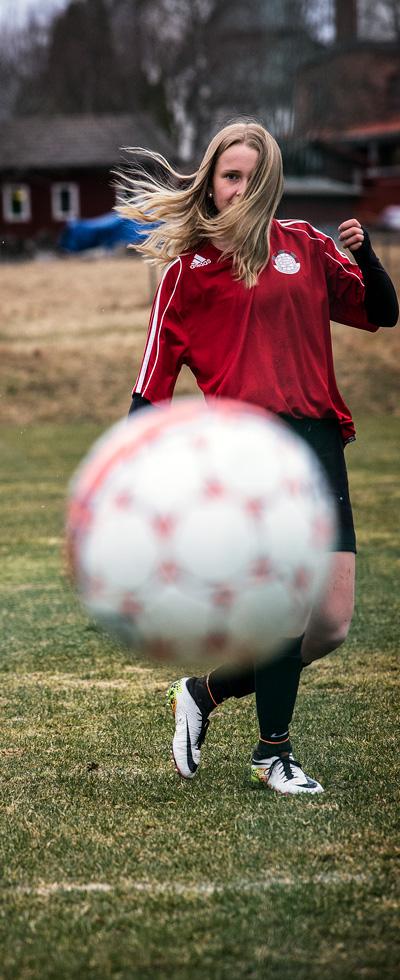 Vendela Brinner För Fotbollen