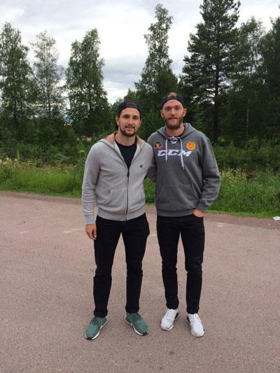 De ödmjuka NHL-stjärnorna »Dalarna är Alltid Vårt Hem«
