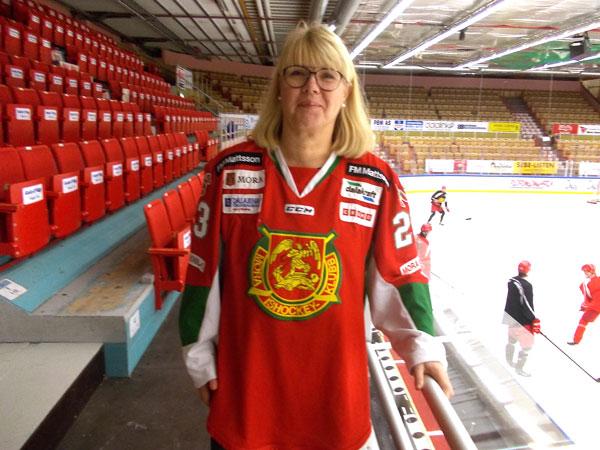 Kvinnan Som Styr Mora IK: Vill Ha Mycket Omkring Mig