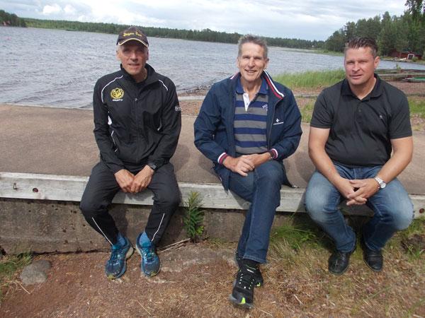 Tre Starka OS-roddare Satte Sollerön På Kartan