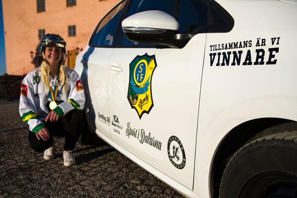 Hanne Guldtjej Från Falun
