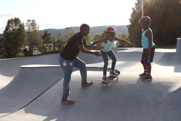 Dalarnas Vackraste Skatepark