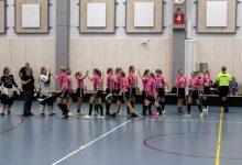 IBF Falun jublar efter mål