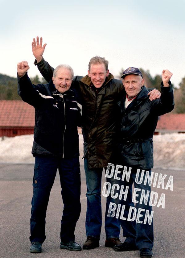 Den Unika Och Enda Bilden:  Dalarnas Tre Skidgiganter