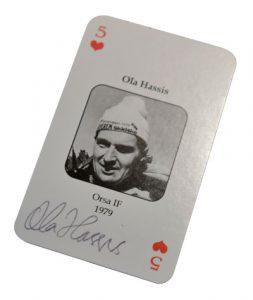 Spelkort Ola Hassis, Team Scania