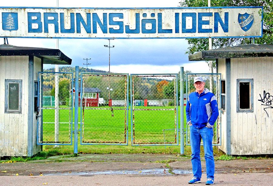 Hedemoras Fritidschef Lars-Åke Östlin