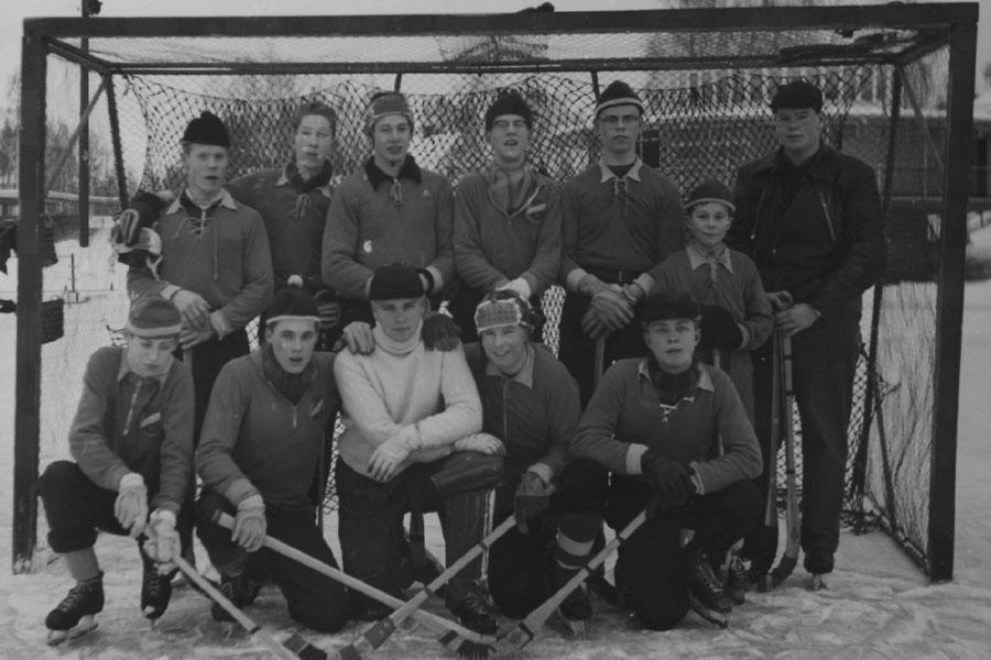 Falu BS Juniorlag På Kopparvallen 1955–56