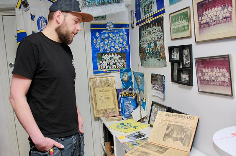 Unikt Sportmuseum I Källaren