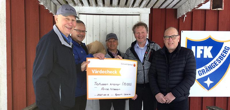 Arne På Grotfallet  Eldsjäl Efter 36 års  Ledargärning